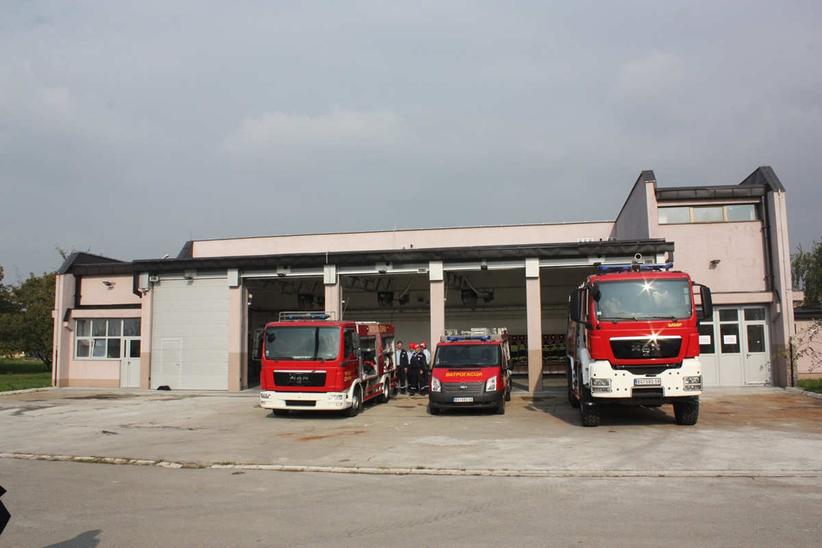 NEW FIREFIGHTING STORAGE OPENED